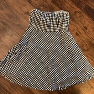 Forever 21 Checkered Dress with Pockets!